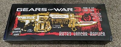 $399.99 • Buy Gears Of War 3 Retro Lancer Replica - Sealed, Brand New - Life Size Prop