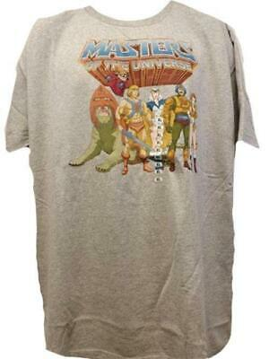 $8.54 • Buy New He-Man And The Masters Of The Universe Mens Sizes S-XL Gray Shirt