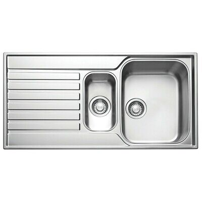 Franke Ascona Inset Sink Stainless Steel 1.5 Bowl 1000 X 510mm (37197) • 135.99£