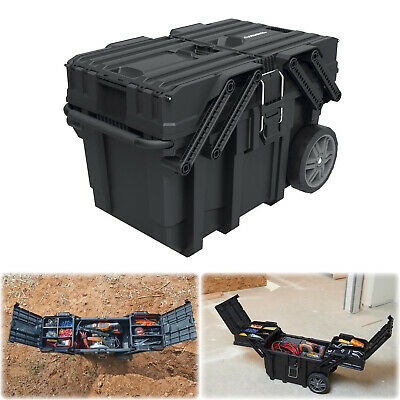 View Details HUSKY 25 In. HEAVY DUTY ROLLING TOOL BOX Lockable Cantilever Mobile Job Storage • 61.97$