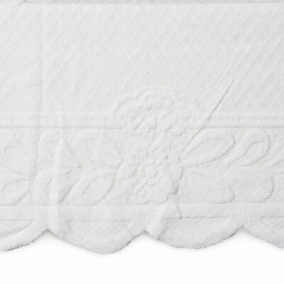 $15.99 • Buy Lace Floral Rectangle Table Cloth Cover For Dining Table, 60 X 98 Inches, White