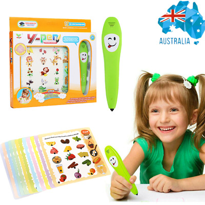 AU22.14 • Buy Toddler Educational Book Smart Learning Pen English Read Toy For 3+ Year Old Kid