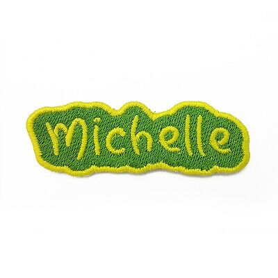 Personalised Embroidered Name Patch, Embroidery Name Patch • 3.90£