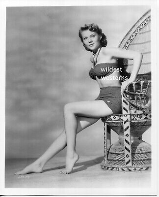 $ CDN83.43 • Buy PEGGIE CASTLE Vintage 1980s Darkrm PHOTO Barefoot SEXY LEGS BELLY Swimsuit TOES