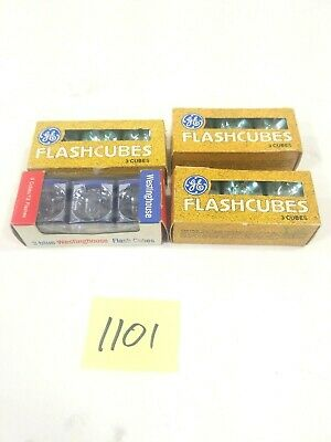 $12.59 • Buy Vintage Flash Cubes GE And Westinghouse Qty 12