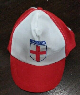 England Euro 2021 Football Supporters Adult Cap Hat Summer Rugby Cricket  • 3.28£