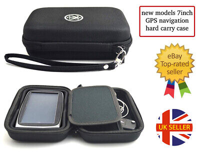 £9.99 • Buy NEW MODEL GPS Hard Carry Case To Fit 6.5inch And 7inch Devices Garmin TomTom Etc