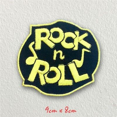 £1.98 • Buy Rock N Roll Music Rockabilly Iron On Sew On Embroidered Patch#112