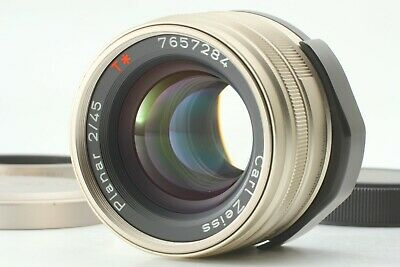 $379.99 • Buy [MINT W/Hood] Contax Carl Zeiss Planar T* 45mm F/2 Lens For G1 G2 From JAPAN#151