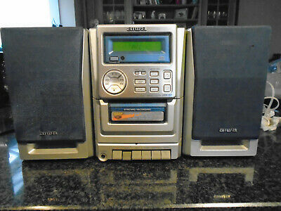 Aiwa Micro Compact System LCX-137 With CD/Cassette/radio/Aux • 22£