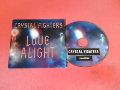 CRYSTAL FIGHTERS Love Alright Rare 1 Track UK CD! • 1.99£