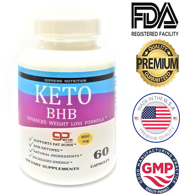 $11.76 • Buy Shark Tank Keto Diet Pills Best BHB Advanced Weight Loss Fat Burn Supplement