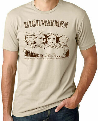 $ CDN21.79 • Buy The Highwaymen T Shirt Willie Nelson Hank Williams Jr Vintage Rock Merle Hagg...