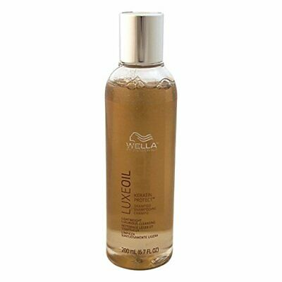Wella Luxe Oil Keratin Protect Shampoo For Unisex, 6.7 Ounce Free Ship • 39.99£