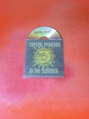 CRYSTAL FIGHTERS In The Summer Rare 1 Track UK CD! • 1.99£