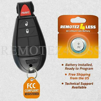 $ CDN15.95 • Buy For GQ4-53T Jeep Cherokee Dodge Ram Remote Fob Entry