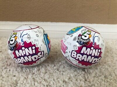 $ CDN29.52 • Buy 5 Surprise Mini Brands BALL By ZURU 2 New SEALED Balls