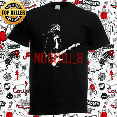 John Frusciante Red Hot Chili Peppers Guitarist Mens Black T-Shirt Size S To 5XL • 13.99£