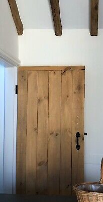 £140 • Buy SOLID LEDGED DOORS ~ RUSTIC BARN COTTAGE DOORS - 30mm Thick MADE TO MEASURE