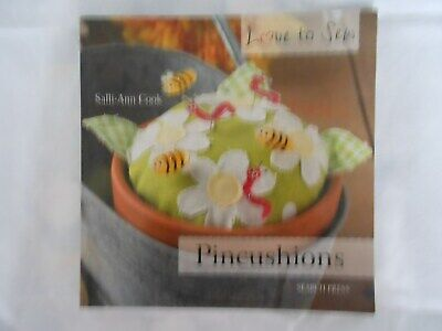 New 'pincushions' Sewing Pattern Book By Salli-ann Cook • 5£