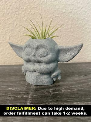 $27.99 • Buy Planter | Yoda Baby Gifts In 3D | Decorate Star Wars Tables MO2