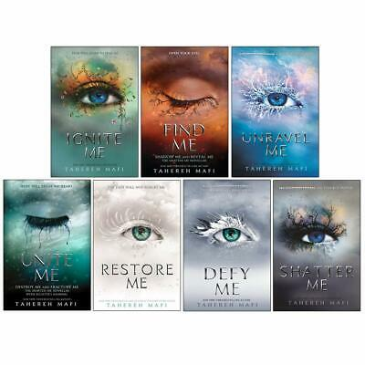 £27.98 • Buy Shatter Me Series 7 Books Collection Set By Tahereh Mafi Ignite Me, Find Me NEW