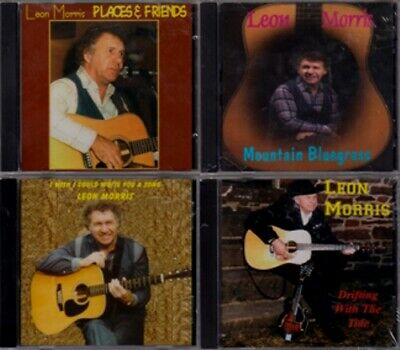 $ CDN51.99 • Buy Leon Morris - 4 CDs - Lot Of 4 RARE OOP Canadian Country Bluegrass CDs (New!)