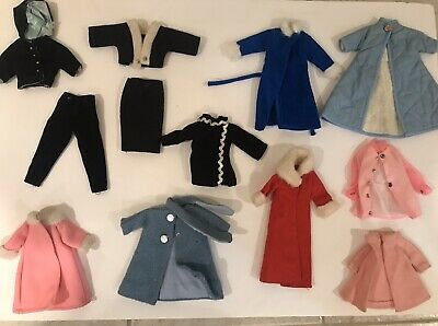 $ CDN56.92 • Buy Lot Of Vintage Barbie & Friends Doll Clothes - Clone, Hade Made, Etc