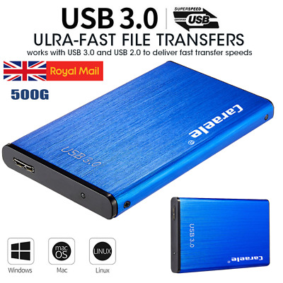 AU49 • Buy USB 3.0 SATA 500GB External Hard Drive Disk HDD 2.5''Fit For PC Windows Portable