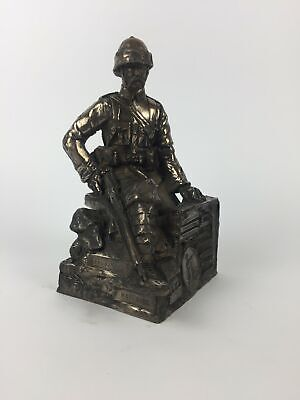 Boer War Soldier Military Statue Sculpture • 65£