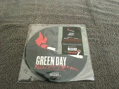 Green Day-Holiday.7  Picture Disc • 12£