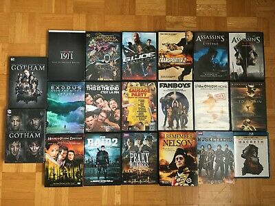 $ CDN39 • Buy Lot Of 20 DVD MOVIES / TV SERIES - Used / Pre-Owned