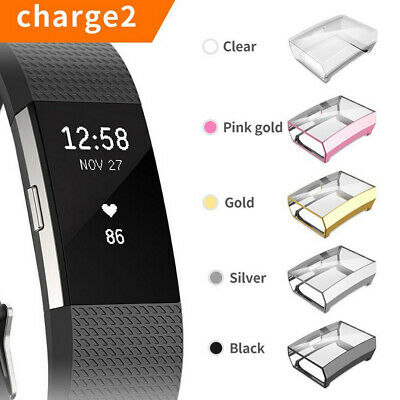 $ CDN5.05 • Buy AM_ Ultra-thin Soft TPU Screen Protector Case Cover For Fitbit Charge 2 DEN