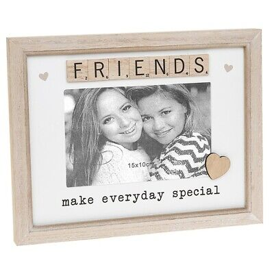 £9.90 • Buy Scrabble Sentiment Friends Make Everyday Special  Photo 6  X 4  Frame  291684