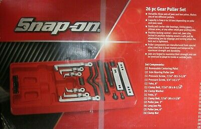 $459 • Buy Snap On 26 Piece Gear Puller Set Cj2002 Gear Puller Set Tool Tools Snap-on