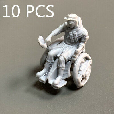 AU6.78 • Buy 10x Heroes For Dungeons & Dragons DND Miniatures War Board Game Figure