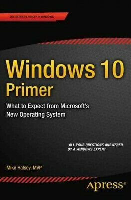 $ CDN22.91 • Buy Windows 10 Primer : What To Expect From Microsoft's New Operating System, Pap...