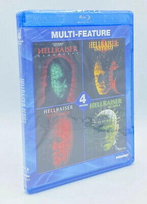 Hellraiser Multi-Feature Collection [2014] Blu-ray Disc.   Hellraiser 4 5 6 7  • 39.98£
