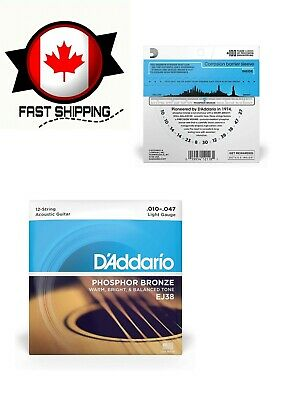 $ CDN13 • Buy EJ38 12-String Phosphor Bronze Acoustic Guitar Strings, Light, 10-47