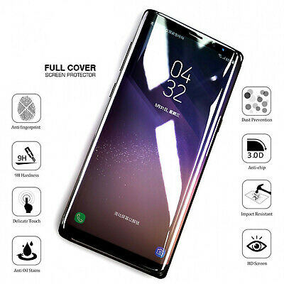 $ CDN3.25 • Buy For Samsung Galaxy S21+ S20 S10  Full Cover Tempered Glass Screen Protector Film