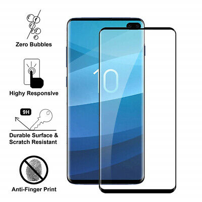 $ CDN3.35 • Buy For Samsung Galaxy S10 Note 10+ S9 S8 Full Cover Tempered Glass Screen Protector