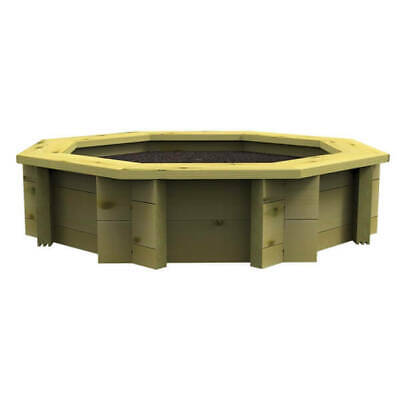 Raised Garden Bed - 8ft Octagonal - 697mm Height - 44mm Thick Wall • 389£