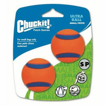 Chuckit Ultra Ball - High Visibility - Durable - 4.8cm - 2 Pack - Small • 7.02£