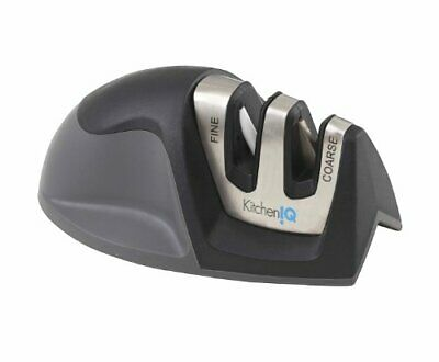 $7.68 • Buy KitchenIQ 50009 Edge Grip 2-Stage Knife Sharpener Black