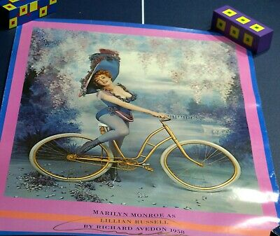 $195 • Buy Marilyn Monroe As Lillian Russell Signed Poster By Richard Avedon - Enchantress