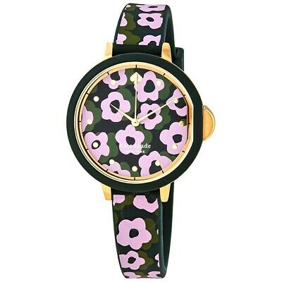 $ CDN62.60 • Buy Kate Spade New York Park Row Pink And Black Silicone KSW1542