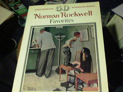 $ CDN6.47 • Buy Large Poster Size 50 Norman Rockwell Favorites