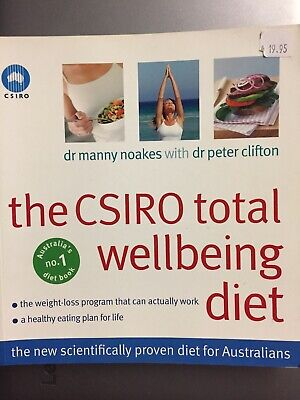 AU25 • Buy The CSIRO Total Wellbeing Diet By Peter Clifton Dr Manny Noakes PB Healthy Plan