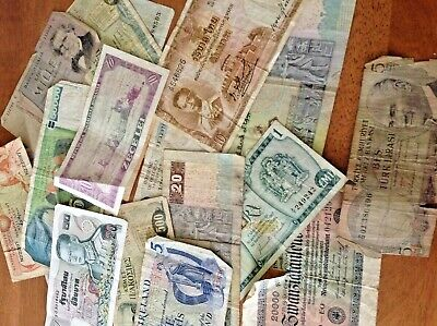 Selection Of Old Foreign Currency  • 21£