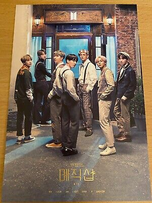 $13.99 • Buy BTS 5th MUSTER DVD [MAGIC SHOP] Official Invitation Card Only + Tracking #